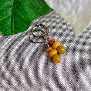 Jewelry - Handmade Stone Earrings